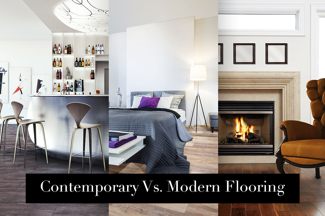 Contemporary Vs. Modern Flooring