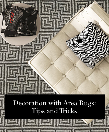 Decoration with Area Rugs: Tips and Tricks